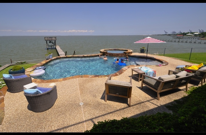 Vacation rental near Kemah, Texas and Space Center Houston
