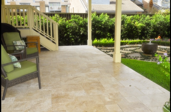 Private patio with water fountain sounds and BBQ grill for your use