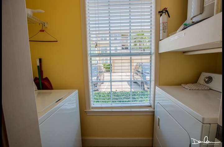 full size washer and dryer in this condo for your use