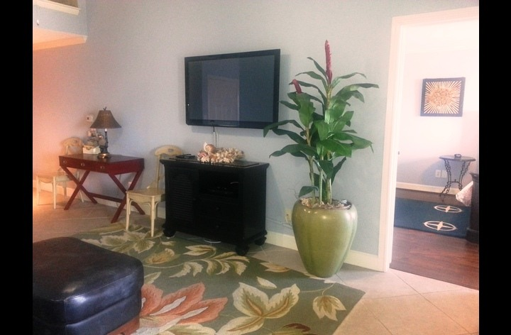 Spacious ententertainment room with flat screen TV - cable and Wi-Fi