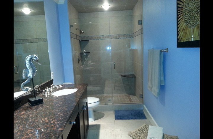 Full bathroom attached to master bedroom